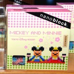 明日はひな祭り♪ナノブロックでもミッキーとミニーのお雛様が発売中♪ナノブロック小さいのに出来がすごい!!クリップスタンドも可愛いですね♪