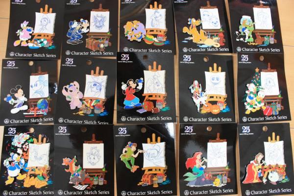 ディズニー25周年ピンバッジ非売品