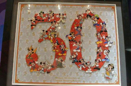 東京ディズニーリゾート30周年 スペシャルピンバッジ