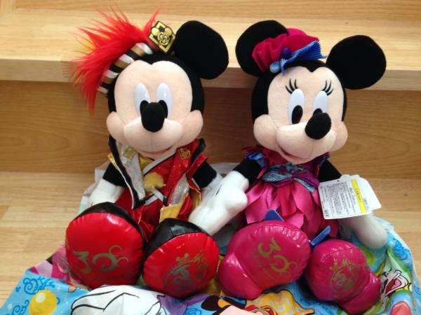 TDL 30周年 ディズニー 2013 爽涼鼓舞 ミッキー ぬいぐるみ