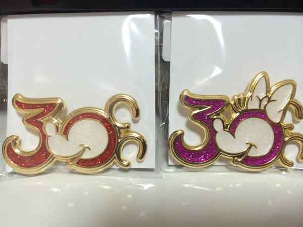 ディズニー 30周年 ランヤード ミッキー&ミニー
