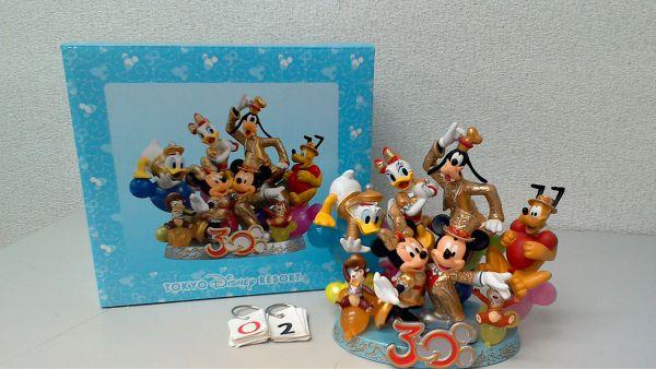 ディズニー TDR30周年 フィギュア 置物