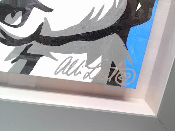 アリソン・レフコート とんすけ&ミスバニー 貴重直筆原画-2