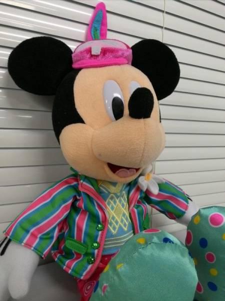 ディズニー ミッキー ぬいぐるみ 2011 イースター 44×33cm