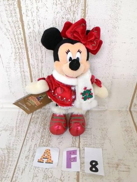 ディズニー ミニー ぬいぐるみバッジ 2010 クリスマス