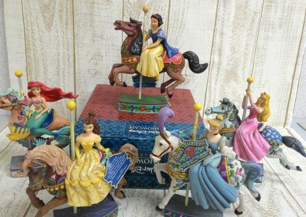白雪姫&アリエル他 Disneyトラディションズ 木馬カルーセル