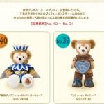 東京ディズニーシー「グッズアンコール・コレクション」ダッフィーのコスのランキング40~31位。TDS5周年や2013スプリンぐボヤッジなど
