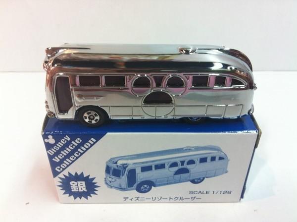 貴重!TDR限定トミカ 2007 ディズニーリゾートクルーザー (銀)