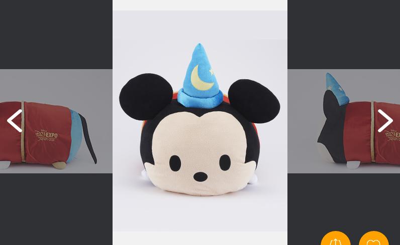 D23 2015限定 ディズニー メガ ツムツム ソーサラーミッキー