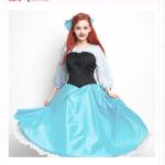 ディズニー・ハロウィーンの仮装にオススメ!陸に上がったアリエルをイメージしたSecret Honeyの仮装ドレスが7月28日から店頭受注受付開始!