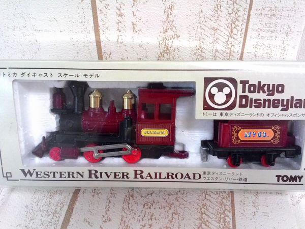 ウエスタンリバー鉄道-トミカ-ダイキャストスケールモデル