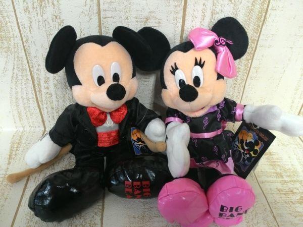 ミッキー-ミニー-ぬいぐるみ-BBB-ビッグバンドビート-タグ付
