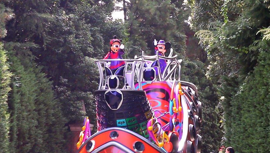 TDR東京ディズニーランド「ハロウィーン・ポップンライブ」|スタッフインパレポート。パレード動画の追加♪