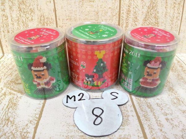 ミッキー ミニー ナノブロック クリスマス 2011 2013