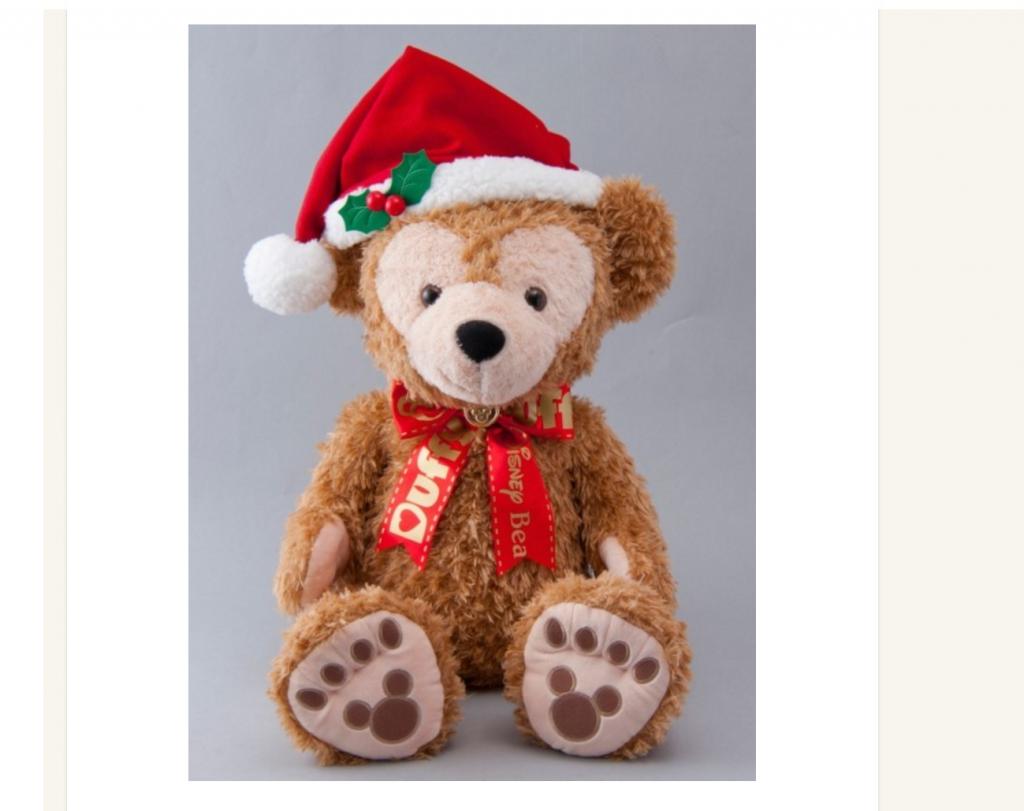 2016年クリスマスのダッフィーたちのグッズ&スーベニア付きメニューをまとめてご紹介!5種類のぬいば&ビッグサイズなぬいぐるみも!11月2日発売♪