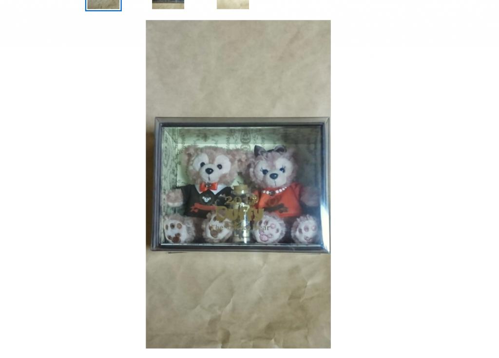 毎年恒例、ダッフィー&シェリーメイのコレクションドールセットが今年も登場!プレミア感あふれるボックス入り♪12月26日発売!