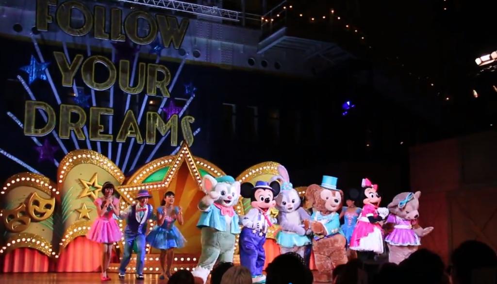 TDS「ステップ・トゥ・シャイン」スタッフインパレポ♪夜公演はライトアップされて見ごたえアリ!