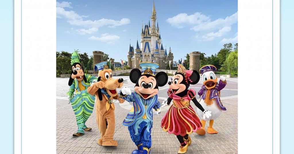 """2018年4月5日からの東京ディズニーリゾート35周年""""Happiest Celebration!"""" 新コスチュームがお披露目。リボンにインスピレーションを受けた華やかなコスチュームです♪"""