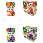 ミッキー&ミニーのパッケージが可愛い「トロピカーナ くだものゼリー100 アップル・グレープ」11月21日発売!ワンハンドでフルーツが味わえるうれしいゼリー♪