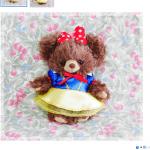 「Disney Princess BEAR by UniBEARsity」第3弾は白雪姫!白雪姫、王子、女王、7人のこびとをモチーフにしたユニベアが11月21日発売!嬉しい購入特典も♪