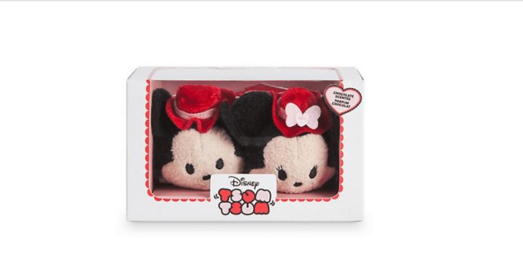 人気カップルが勢ぞろい♪ツムツムぬいぐるみバレンタインボックスセットが1月5日発売!ハート型のボックスに入っています♪