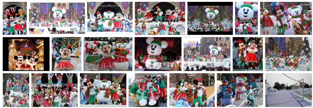 2008年のTDLクリスマスキャッスルショー【ミッキーのジョリースノータイム】動画・グッズ・解説などのまとめ。ステージの大きさは過去最大級!