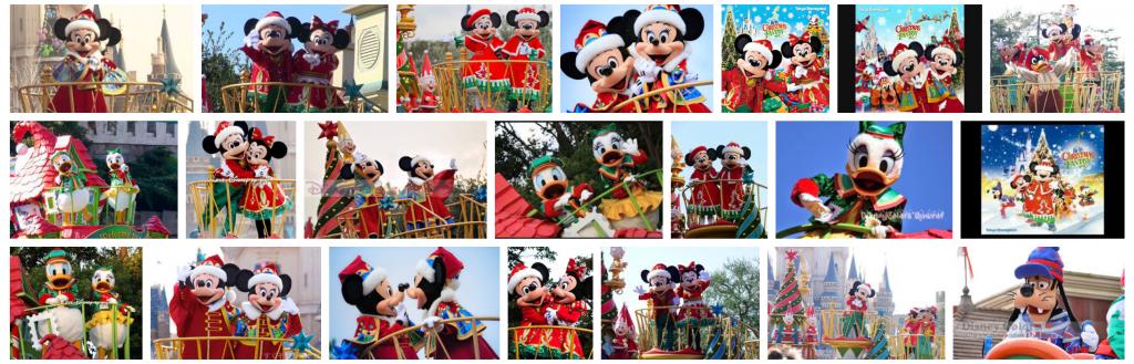 2011年から2014年にかけて公演されたTDLのクリスマスパレード【ディズニー・サンタヴィレッジ・パレード】動画・グッズ・解説などのまとめ。サンタの村が舞台です♪