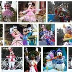 2009年から2010年のTDLクリスマスパレード【ホワイトホリデーパレード】動画・グッズ・解説などのまとめ。おとぎの国が舞台のかわいいパレード!