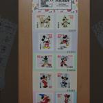 ミッキーのスクリーンデビュー90周年を記念して、ミッキーたちの切手が郵便局に登場!スタンプアートは10個限定の激レアアイテムです♪