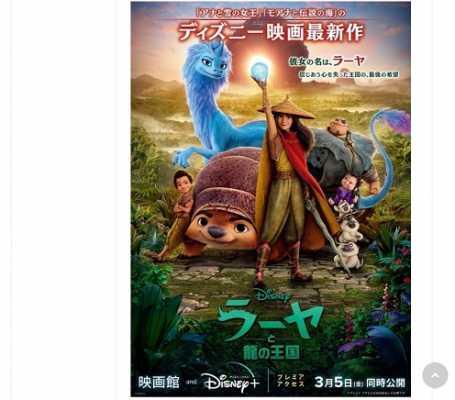 ディズニーストアの「ラーヤと龍の王国」グッズが2月19日発売!